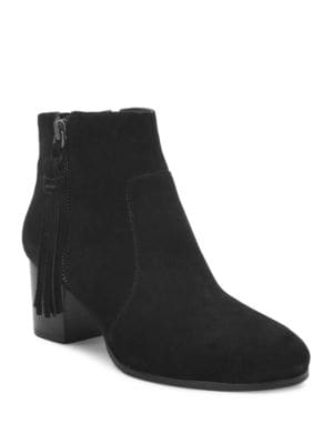 Josie Suede Ankle Boots by Tahari