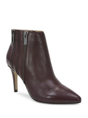 Krave Leather Ankle Boots by Tahari