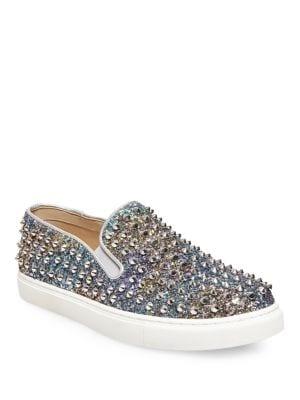 Buy Emmas Studded Slip-Ons by Steve Madden online