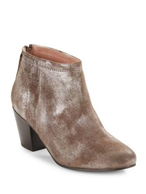 Clash Suede Booties by Seychelles