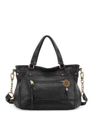 Tahoe Leather Satchel Bag 500046766366