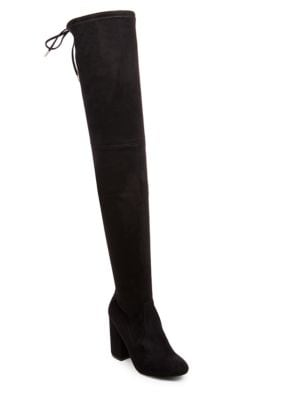 Norri Microsuede Over-The-Knee Boots by Steve Madden
