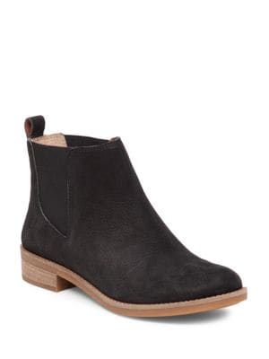 Buy Noahh Slip-On Leather Ankle Boots by Lucky Brand online