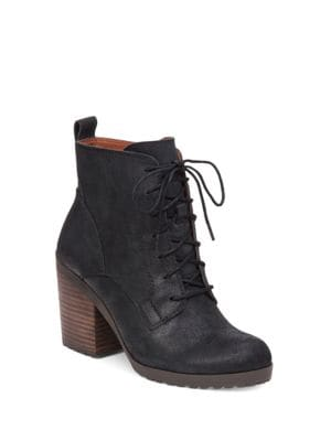 Orsander Suede Ankle Boots by Lucky Brand