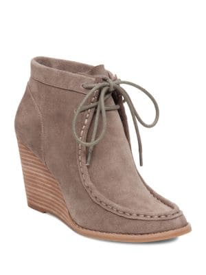 Ysabel Lace-Up Ankle Boots by Lucky Brand