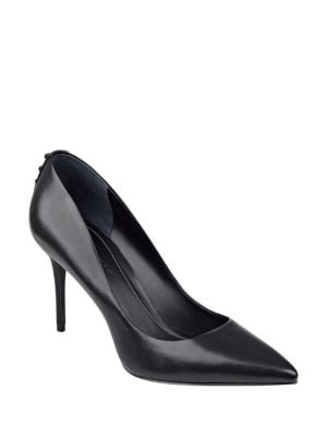 Britney Leather Stiletto Pumps by KENDALL + KYLIE