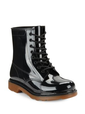 Rubber Ankle Rain Boots by Design Lab Lord & Taylor
