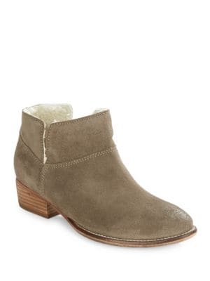Snare Sherpa Lined Ankle Booties by Seychelles