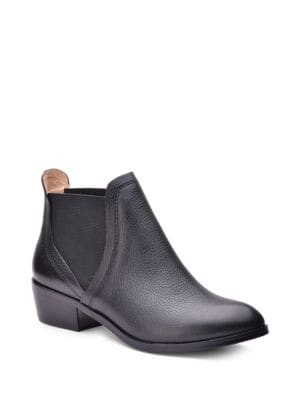 Buy Henri Leather Double Goring Ankle Boots by Splendid online