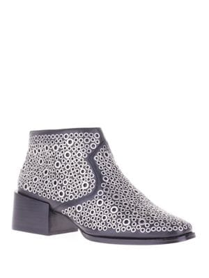 Lou Leather Ankle Boots by Sol Sana