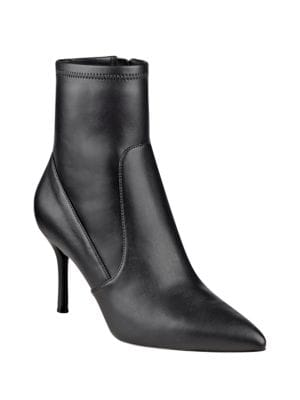 Buy Cadence Point-Toe Booties by Nine West online