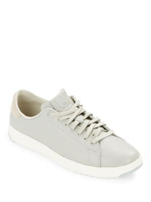 GrandPro Leather Tennis Sneakers by Cole Haan