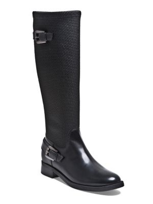 Eddy Leather-Blend Knee-High Boots by Blondo