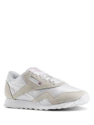 Classic Nylon Suede Ripstop Sneakers by Reebok