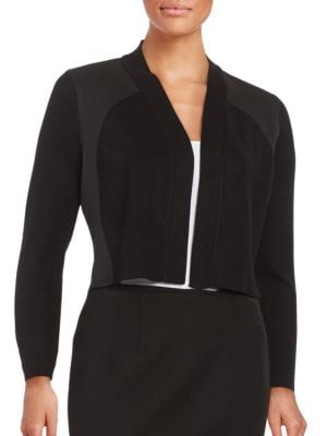 Knit Open-Front Cardigan by Calvin Klein