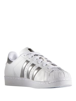 Superstar Leather Sneakers by Adidas