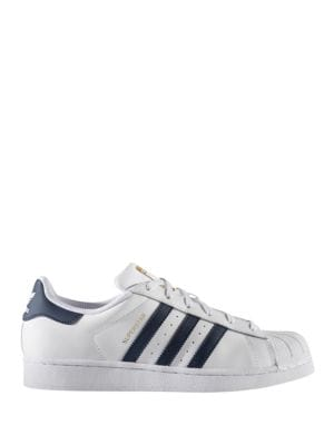 Superstar Striped Sneakers by Adidas