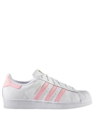 Buy Super Star Lace-Up Sneakers by Adidas online