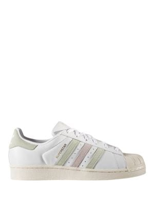 Superstar Lace-Up Leather Sneakers by Adidas