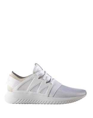 Women's Tubular Round-Toe Lace-Up Sneakers by Adidas
