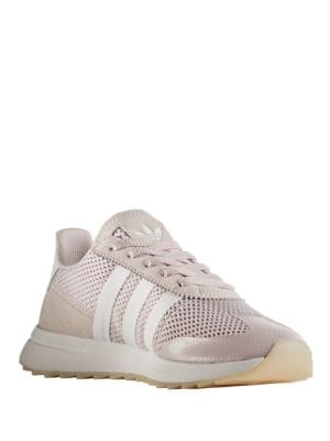 Women's Flash Back Lace-Up Sneakers by Adidas