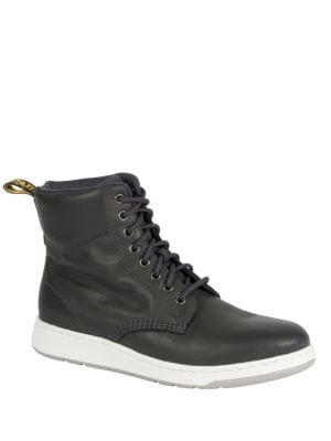 Rigal Leather High-Top Sneakers by Dr. Martens