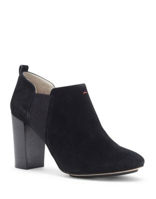 Mahoney Suede Booties by Nanette By Nanette Lepore