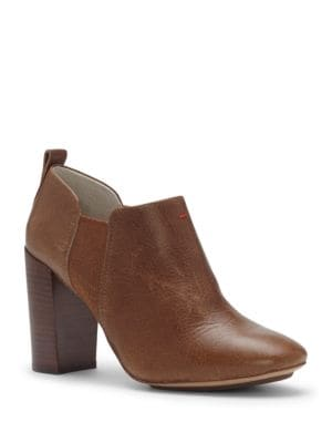 Buy Mahoney Leather High-Heel Booties by Ed Ellen Degeneres online