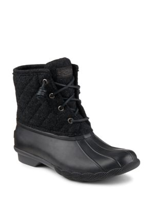 Saltwater Quilted Woolen Duck Boots by Sperry