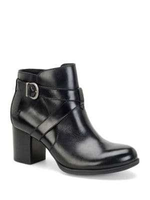 Carabel Full-Grain Leather Ankle Boots by Born