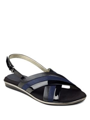 Galea Multi-Tonal Slingback Sandals by Anne Klein