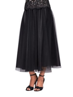 Tea Length Full Skirt by Alex Evenings