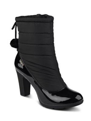Xhale Round Toe Boots by Anne Klein