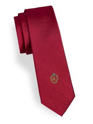 Silk Crest Tie