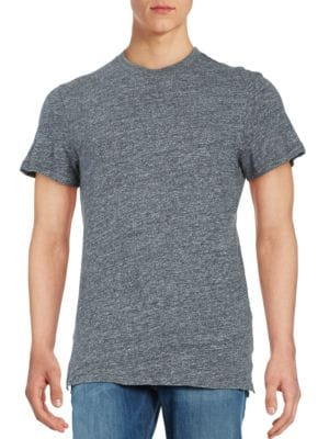 Cotton Jersey Knit Short-Sleeve Tee by Selected Homme