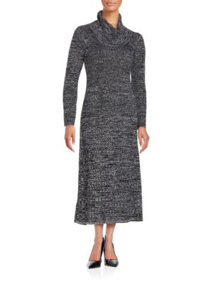 Marled Sweater Maxi Dress by Calvin Klein