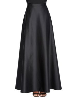 Plus Solid A-Line Skirt by Alex Evenings