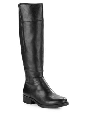 Terusa Leather Panel Riding Boots by Bandolino