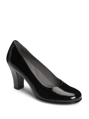 Major Role Patent Leather Pumps by Aerosoles