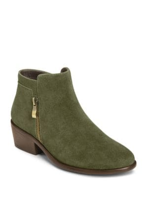 Mythology Suede Moto Ankle Boots by Aerosoles