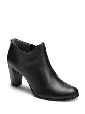 Trust Worthy Leather Booties by Aerosoles