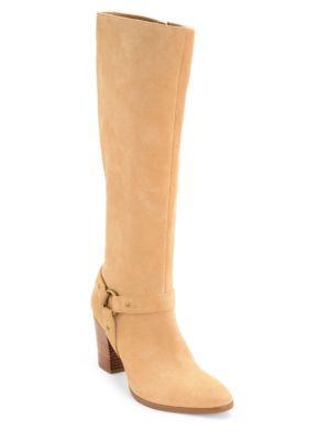 Fareeda Suede Over-The-Knee Boots by Lauren Ralph Lauren