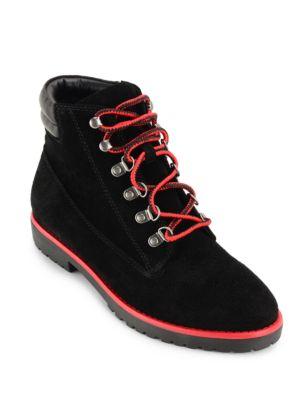 Mikelle Oiled Suede Boots by Lauren Ralph Lauren
