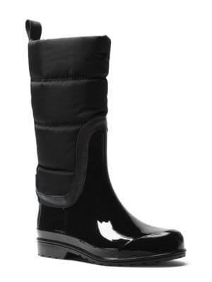 Buy Cabot Quilted Cold Weather Rain Boots by MICHAEL MICHAEL KORS online