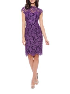 Scalloped Lace Dress by Decode 1.8