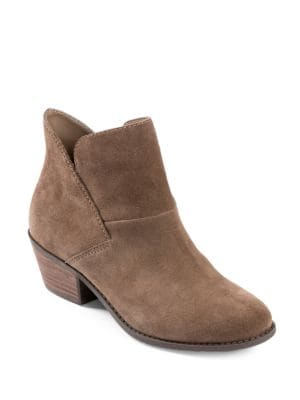 Zale Suede Almond Toe Ankle Boots