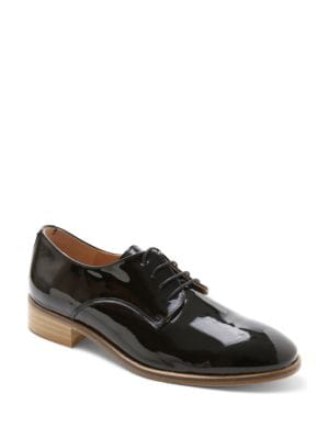 Buy Viola Patent Leather Derby Shoes by Andre Assous online