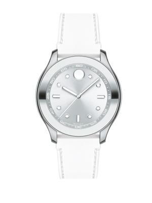 Bold Stainless Steel and Silicone Strap Watch by Movado Bold