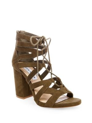 Gal Lace-Up Sandals by Steve Madden