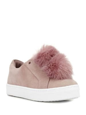 Leya Slip-On Suede Sneakers by Sam Edelman